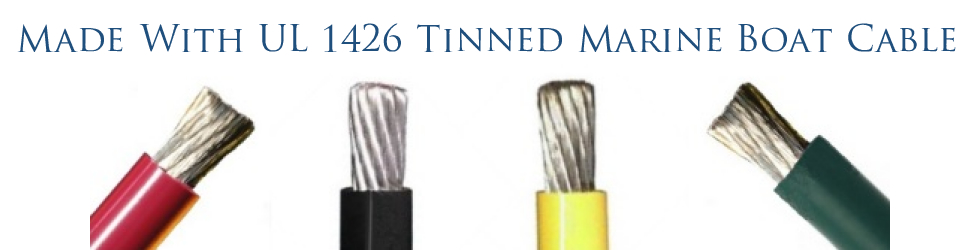 Made With UL 1426 Tinned Marine Boat Cable
