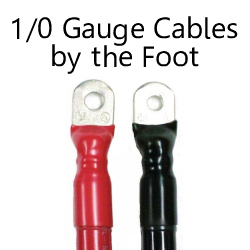 1/0 Gauge Cables By The Foot