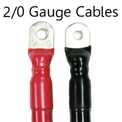 2/0 AWG UL 1426 Tinned Boat Cable